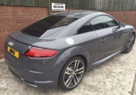Rear window Tints on Audi TT