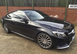 Tints on Mercedes C250