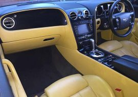 Bentley GT Interior