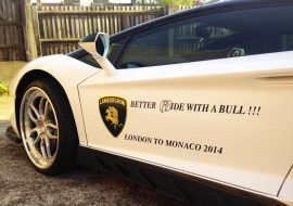 Lamborghini fleet branding by Khaz Customs