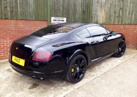2 tone Bentley GT wrapped at Khaz Customs