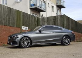 Full tints on Mercedes Benz C250