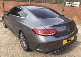 C250 Merc with Full tints