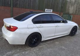 BMW 320 with Full tints