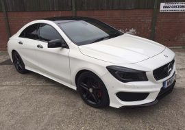 Mercedes Benz CLA Full Dechrome by Khaz Customs