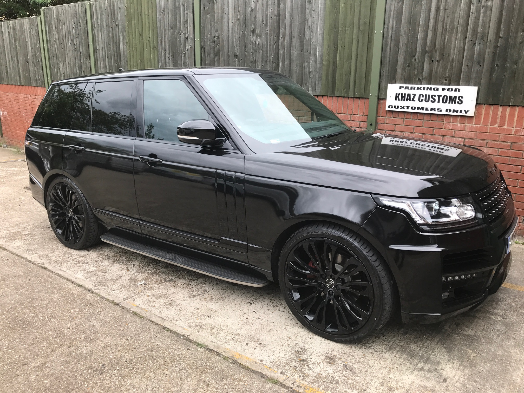Vogue wrapped in Gloss Black