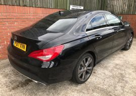 Mercedes CLA Full Tints