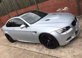 Full tints by Khaz Customs on this BMW M3