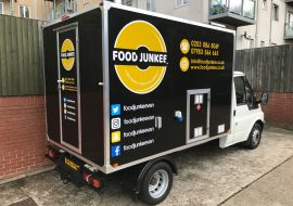 Fleet Branded Mobile Food truck