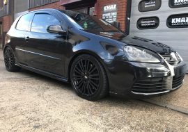 Power coated Golf R32 Alloys