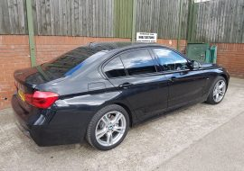 BMW Window tints by Khaz Customs